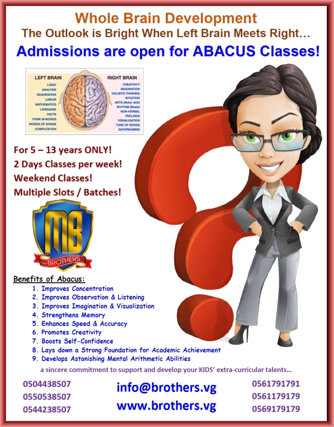 15- UC MAS ABACUS 2016!
