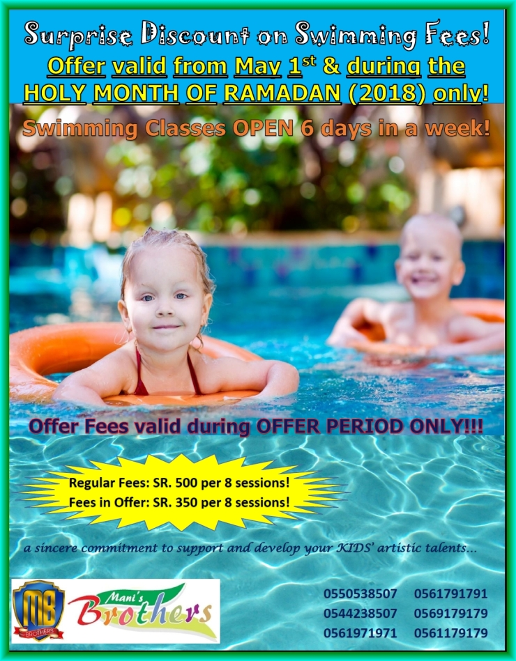 67A~ SWIMMING MAY & RAMADAN OFFER