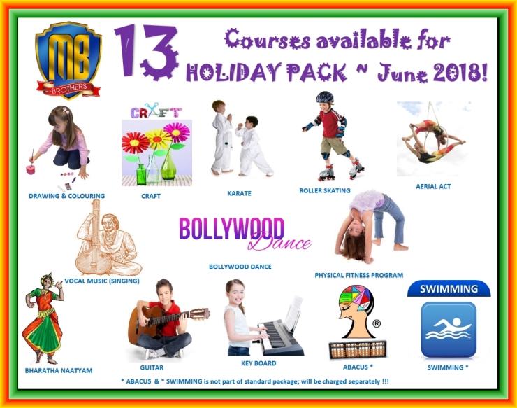 60 R ~ COURSES FOR RAMADAN ~ HOLIDAY PACK 2018